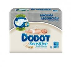 DODOT SENSITIVE RECIEN NACIDO T/1 30 UDS  2-5 KG